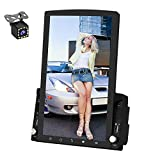 Double Din Android Car Stereo GPS Navigation Head Unit Car Radio with WiFi Bluetooth 9.7inch Touch Screen Support DVR/Mirror Link/Split Screen/OBD2/D-Play/Backup Camera/USB/Steering Wheel Control