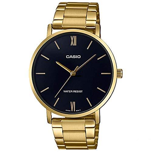 Casio Dress LTP-VT01G-1B - Reloj de pulsera analógico para mujer