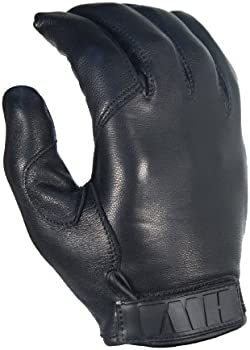 HWI Gear Kevlar Lined Leather Duty Glove, Large, Black