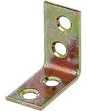 GAH-Alberts 339463 stoelhoek, elektrolytisch geel verzinkt, 25 x 25 x 14 mm / 50 stuks