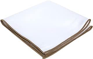 Gentleman's Essentials Weekend Casual White Pocket Square