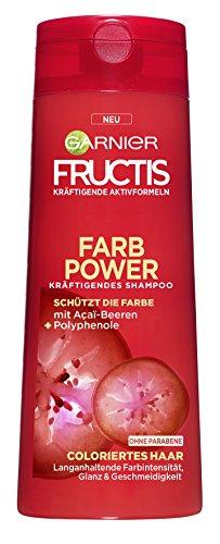 Garnier Fructis - Shampoo fortificante per capelli Densi e Corposi, 6 pz. (6 x 250 ml).