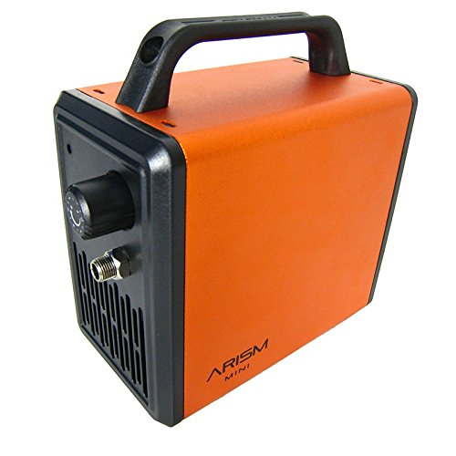 Sparmax Kompressor Airbrush ARISM Mini Electric Orange 161017 Druckluft