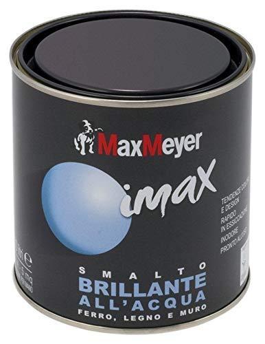 MaxMeyer Smalto brillante all'acqua per ferro e legno Imax BIANCO NEVE 0,5 L