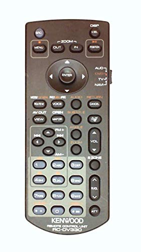 KENWOOD RC-DV330 DNX7140 DNX-7140 GENUINE REMOTE Tested- With Batteries- Sold By Buyeverythingguy