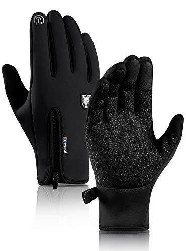 HONYAR Winter Gloves, Waterproof Work Gloves Women, Touchscreen Fingers High-Density Carbon Fiber Windproof, Keep Warm in Cold Weather, Driving...