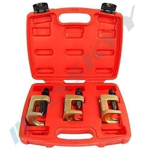 3 tlg. Set Kugelgelenkausdrücker I Universal Kugelgelenkabzieher Werkzeug I Kugelgelenk Ausdrücker