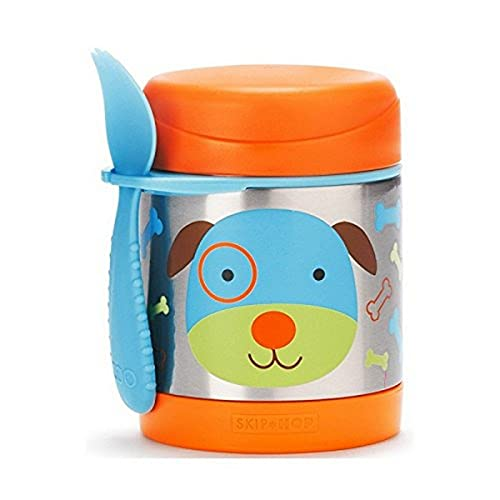 Skip Hop Aufbewahrungsbehälter, für Essen aus Edelstahl, isoliert, Hund Darby, mehrfarbig