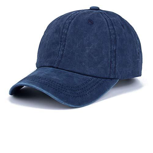 Kodior Damen Baseball Kappe (Marine)