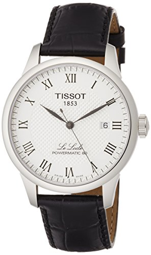 Tissot Men's Le Locle Stainless Steel Dress Watch Black T0064071603300