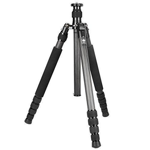SIRUI N-2205X Universal Drei-/Einbeinstativ (Carbon, Höhe: 166,6cm, Gewicht: 1,47kg, Belastbarkeit: 12kg) mit Tasche & Gurt