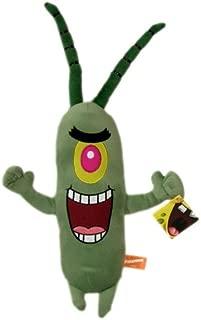Spongebob Squarepants Plankton Plush - Nickelodeon Spongebob Plankton Stuffed Toy (16 In)