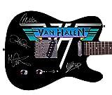 Eddie Van Halen Autographed Signed Custom Graphics Guitar 21