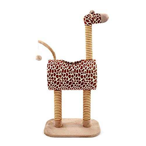 LJJOO Cat Klettergerüst Katzenkratz Spalte Mit Nest Katzentoilette Kratzbaum Tierbedarf Katzenspielzeug Cat Regal Four Seasons Universal-Pet Play House (Color : B)
