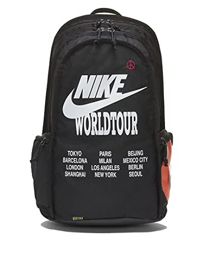 Nike RMP Worldtour Rucksack Backpack (one size, black)