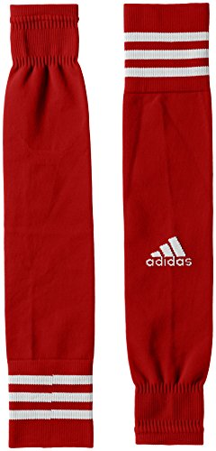 adidas Kinder Team Sleeve 18 Stutzen, Power Red/White, EU 34-36