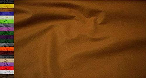StoffBook 2Mm Dicke Universelle Filzstoffe 180Cm, B499 (milchkaffe)