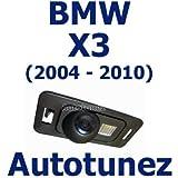 TUNEZ Kit de caméra de recul Inverser la sécurité de la vue arrière du parking de secours pour BMW X3 E83 Series pour BMW X3 série E83