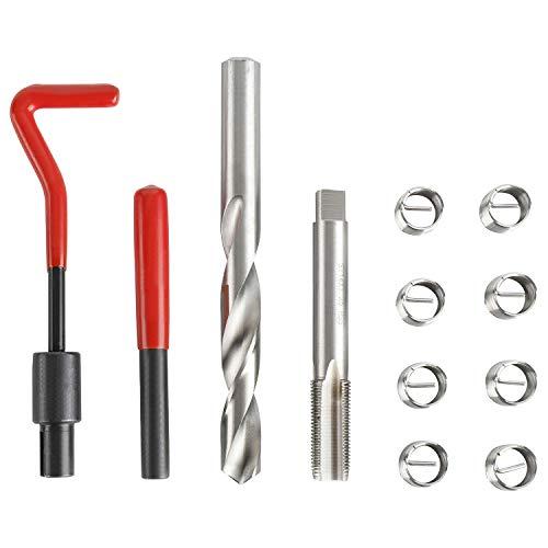 FreeTec Gewinde Reparatur Satz M14 X 1.5 X 12.4mm Gewindereparatur-Einsatzsatz für die automatische Reparatur