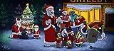 YUBYUB Rompecabezas para adultos 1000 de madera para descomprimir juego DIY Navidad cumpleaños juego de regalo creativo videojuego Undertale/75 x 50 cm