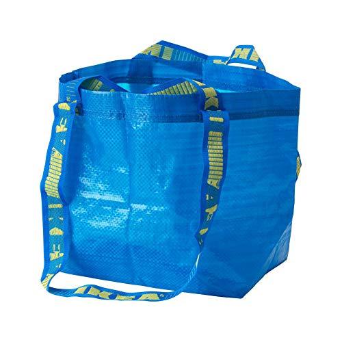 Ikea 401.854.74 BraTTBY Einkaufstasche, klein, Blau, 2 Stück