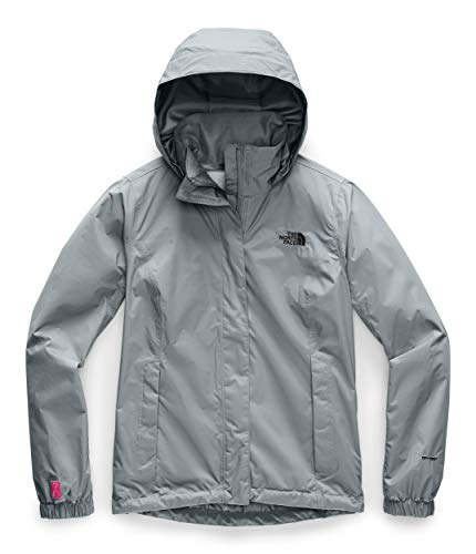 The North Face Women's PR Resolve Jacket, Mid Grey, M