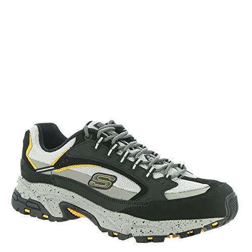 skechers steel toe shoes for men memory foam