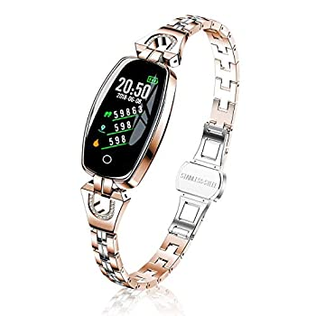 TMYIOYC Fitness Tracker Fitness Watches for Women Digital Watch with Heart Rate Blood Pressure Pedometer Message Notification Workout Activity Tracker Sleep Monitor Wellness Watch