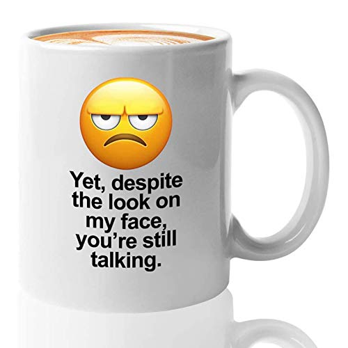 Sarcastic Coffee Mug, Funny Coffee Mugs for Women Sarcasm Men