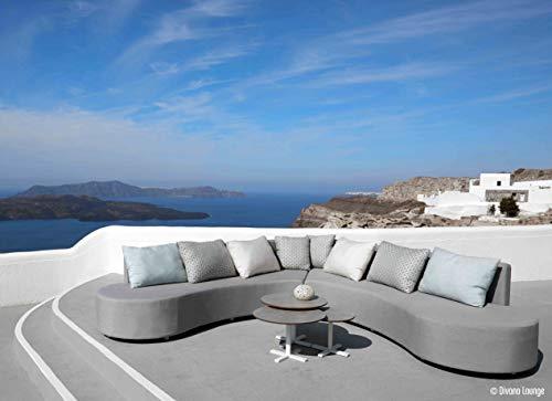 Adore Exklusive und hochwertige Aluminium Outdoor Lounge/Gartenmöbel