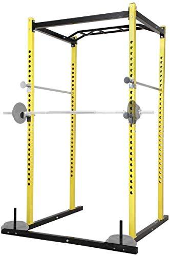 Nova Barra per Trazioni Multifunzione Rack Palestra Fitness Attacco per Bilanciere Carico Massimo 200 kg Gabbia per Allenamento, Power Squat Rack