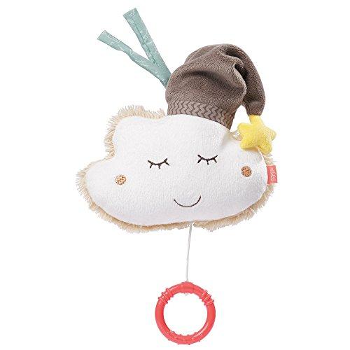 Fehn 060133 Spieluhr Wolke – Aufzieh-Spieluhr mit herausnehmbarem Spielwerk – Melodie