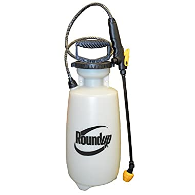Roundup 190474 Multi-Purpose Sprayer for Killing Weeds and Insects and Cleaning, 2 gallon