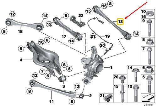 Price comparison product image GTV INVESTMENT 1 F20 Rear Track Strut OEM 33326792533 6792533 New Genuine