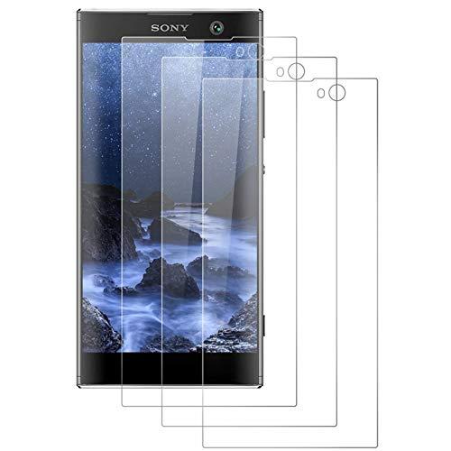 DOSMUNG [3 Pack Vetro Temperato per Sony Xperia XA2, Pellicola Protettiva per Sony Xperia XA2 [9H Durezza] [Tocco 3D] [HD Alta Trasparenza] [Resistenza ai Graffi] Sony Xperia XA2 Tempered Film
