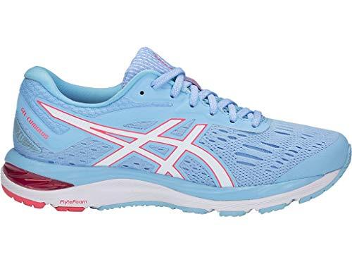 ASICS - Zapatos Gel-Cumulus 20 (D) para mujer, talla:, (Skylight/Blanco), 36.5 EU