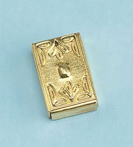 ventas al por mayor Dollhouse Miniature Brass Switch Plate Cover by by by Cir-Kit Concepts, Inc.  alta calidad general