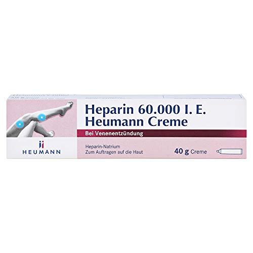 HEPARIN 60.000 Heumann Creme 40 g