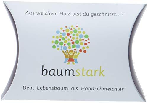 Baumstark Handschmeichler 45 mm mit Baumhoroskop, Holz, Pappel, 8 x 11.5 x 2.8 cm