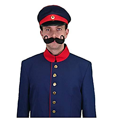 Krause & Sohn Uniformmütze Preußen dunkelblau Einhgr. Zubehör Uniform Preussen Militär Kopfbedeckung