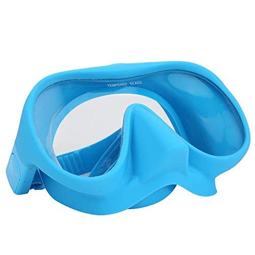 frenma 【𝐏𝐫𝐨𝐦𝐨𝐭𝐢𝐨𝐧 𝐝𝐞 𝐏â𝐪𝐮𝐞𝐬】 DM-408 Tragbare Faltbare Schnorchel-Schwimmbrille, Schwimmbadbrille, Silikon Erwachsene Kinder Unterwasser Outdoor-Spaß zum Schwimmen