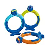 Zoggs Unisex Jugend Zoggy Dive Rings Tauchspielzeug, Multi, One Size