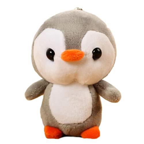 Kenyaw Mini Muñeco De Peluche De Dibujos Animados Lindo Pingüino De Animación Animal De Peluche Pingüino De Peluche Adecuado para Bebés Y Niños Decoración del Hogar