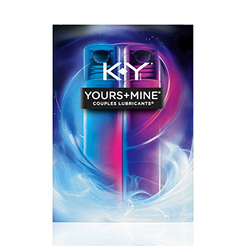 K-Y Yours & Mine Couples Lubricant, 3 oz. (Pack of 3)