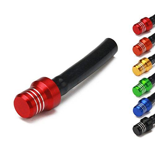 Ysmoto Tappo di sfiato universale anodizzato per tubo di sfiato del gas e del carburante, per moto, dirt bike, fuoristrada, EXC250, SX250, SXF250, EXC450, SX350, SXF450, EXC525