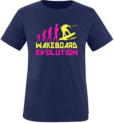 EZYshirt® Wakeboard Evolution Kinder T-Shirt