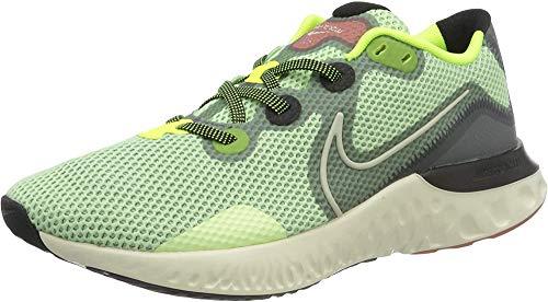 Nike Renew Run, Zapatillas para Correr Hombre, Barely Volt/Pale Ivory/Smoke G, 44.5 EU