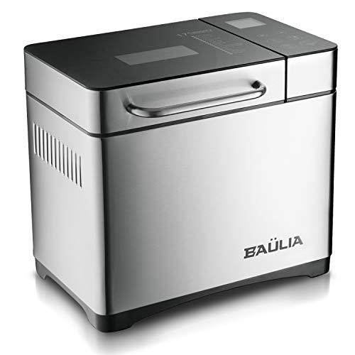 Baulia BM821 Custom loaf Automatic Bread Maker Machine - 17 Programmable Bread Types Settings