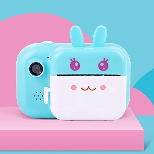 LXSMXJ Los niños instantánea Cámara de impresión de fotografías for niños HD cámara térmica con los Regalos Photo Paper Toys cámara for Cumpleaños (Color : B)
