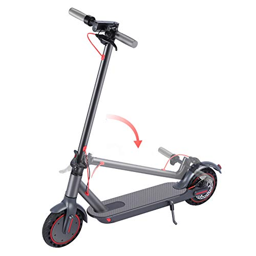 Owl's-Yard Folding Electric Scooter, Large Battery Capacity 10.4 Ah, 350W Motor, Maximum Speed 25 km/h Electric Scooter for Adults ,Max. Load 100 kg Folding Scooter